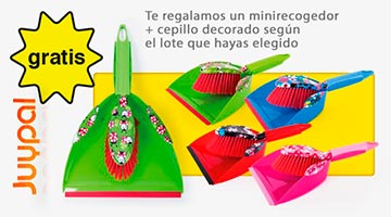 regalo mini recogedor decorado